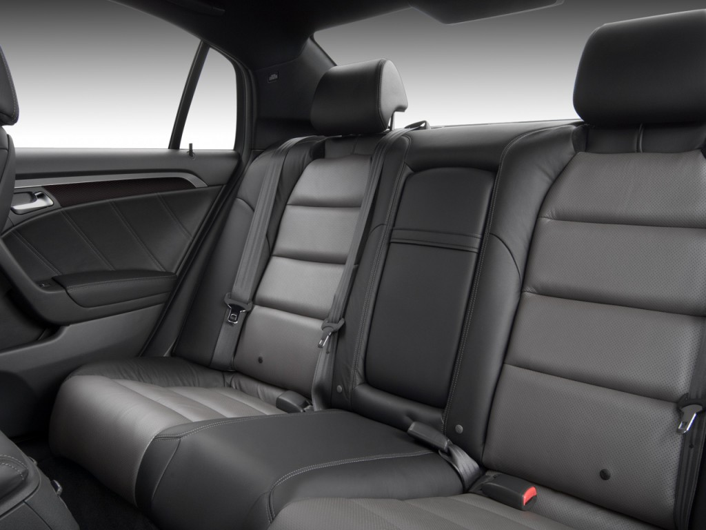 Image 2008 Acura Tl 4 Door Sedan Man Type S Rear Seats