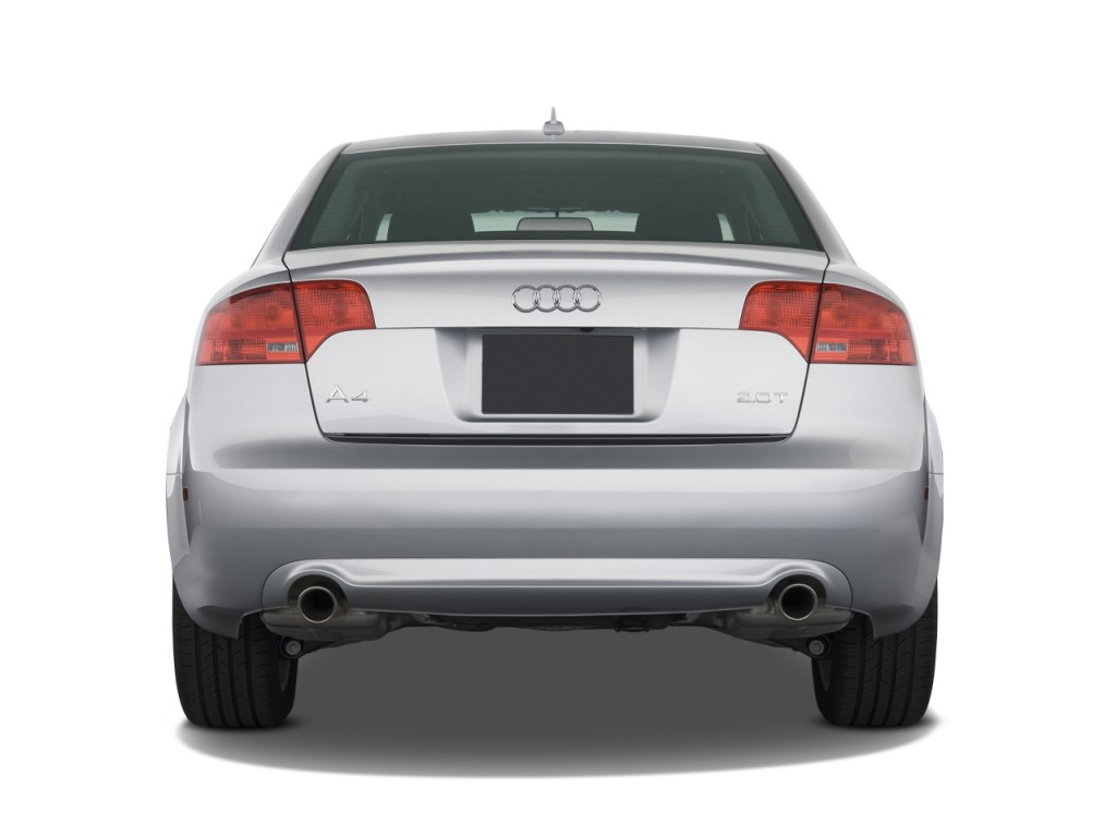 2008 audi a4 4 door sedan cvt 2 0t fronttrak rear exterior for Rear exterior door