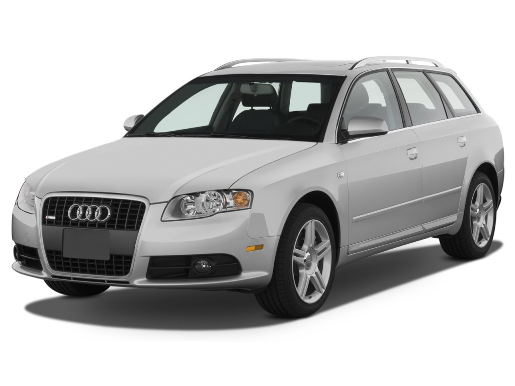 2008 audi a4 5dr wagon auto 2 0t quattro angular front exterior view. Black Bedroom Furniture Sets. Home Design Ideas
