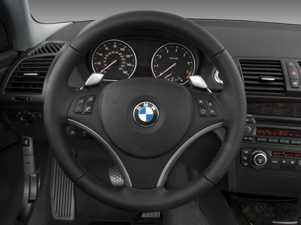 Image: 2008 BMW 1-Series 2-door Coupe 128i Steering Wheel, size: 1024 x 768, type: gif, posted ...