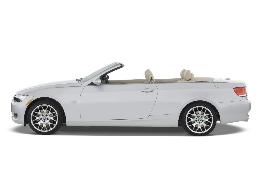 Image 2008 Bmw 3 Series 2 Door Convertible 328i Side
