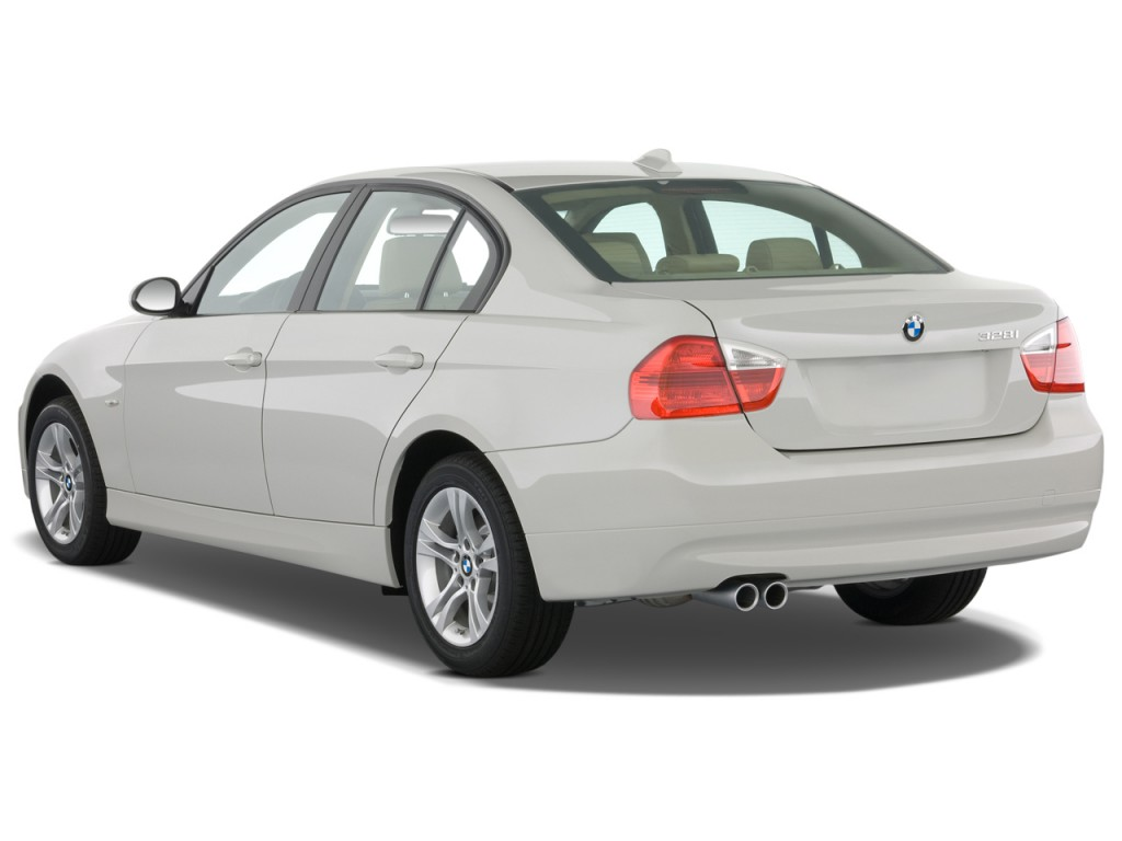 image 2008 bmw 3 series 4 door sedan 328i rwd angular rear exterior view size 1024 x 768. Black Bedroom Furniture Sets. Home Design Ideas