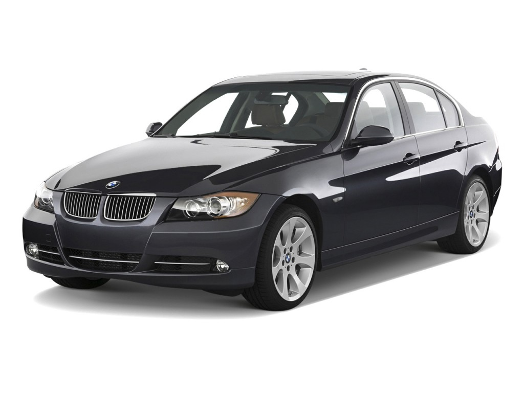 Image 2008 Bmw 3 Series 4 Door Sedan 335i Rwd Angular