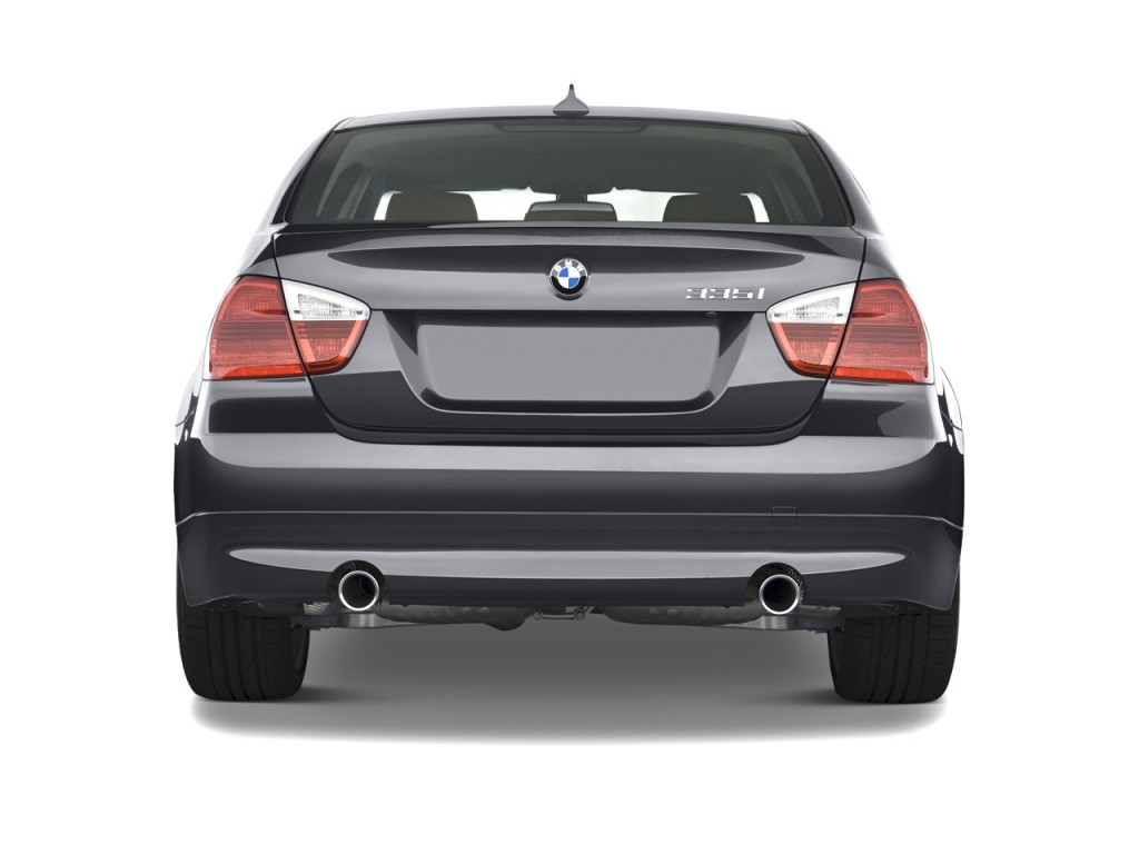 Image 2008 Bmw 3 Series 4 Door Sedan 335i Rwd Rear Exterior View Size 1024 X 768 Type Gif