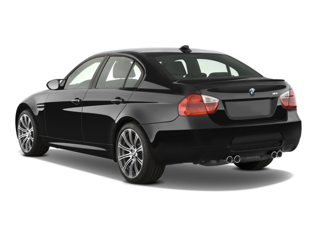Image: 2008 BMW 3-Series 4-door Sedan M3 Angular Rear ...