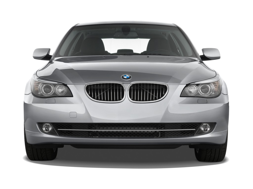 image 2008 bmw 5 series 4 door sedan 528i rwd front. Black Bedroom Furniture Sets. Home Design Ideas