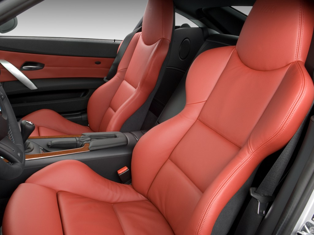 Image 2008 Bmw Z4 Series 2 Door Coupe M Front Seats Size