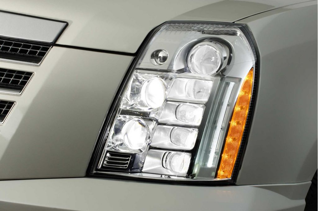 Image 2008 Cadillac Escalade Platinum Led Headlights