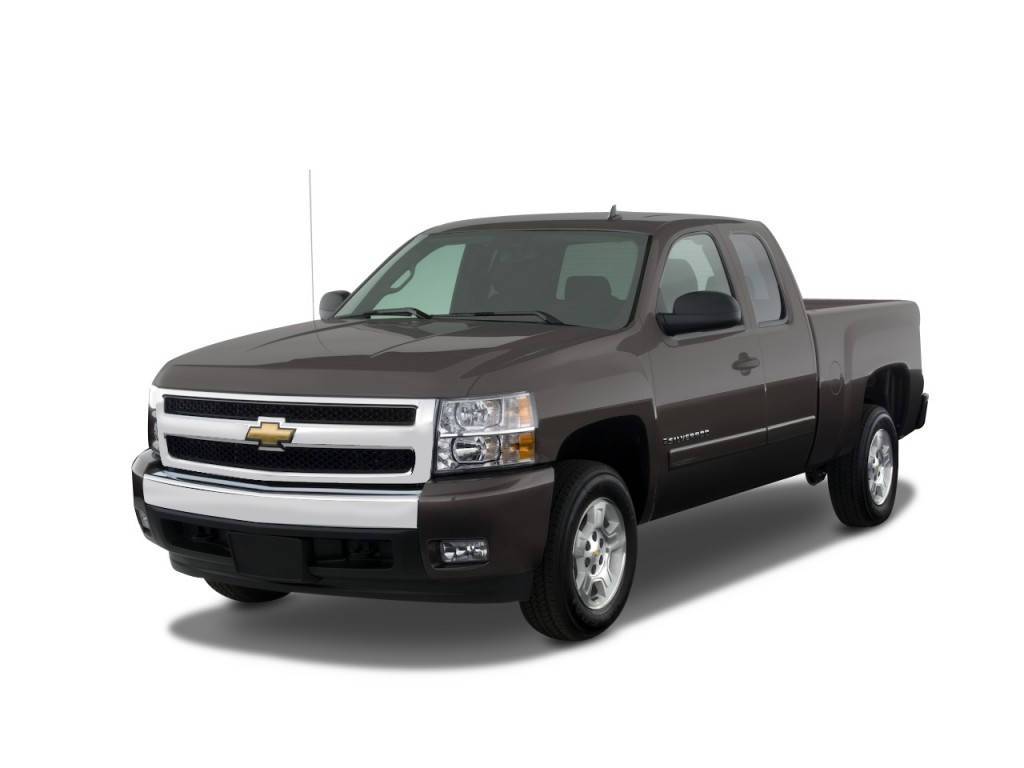 image 2008 chevrolet silverado 1500 2wd ext cab 143 5 lt w 1lt angular front exterior view. Black Bedroom Furniture Sets. Home Design Ideas