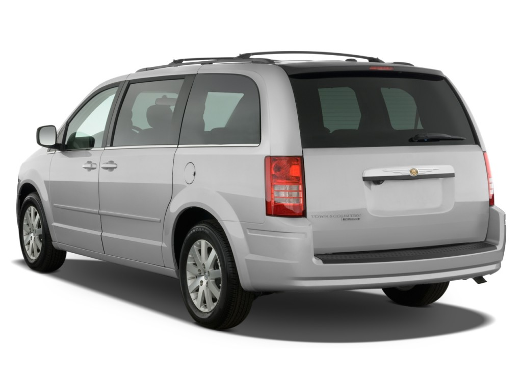 image 2008 chrysler town country 4 door wagon touring angular rear exterior view size 1024. Black Bedroom Furniture Sets. Home Design Ideas