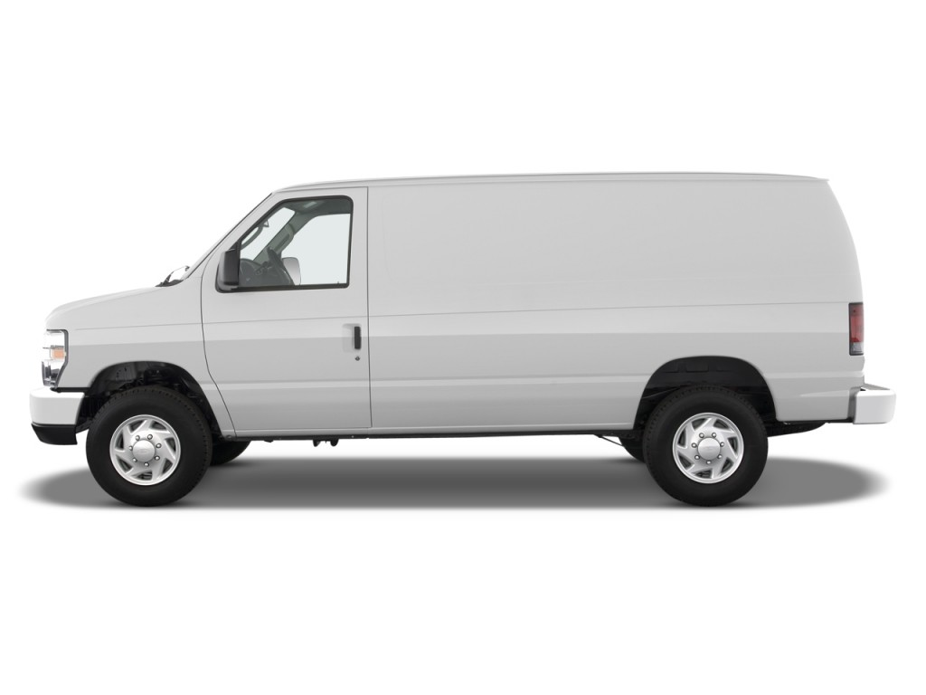 image  ford econoline cargo van   commercial side exterior view size    type