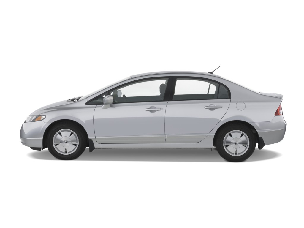 Image 2008 Honda Civic Hybrid 4 Door Sedan Side Exterior