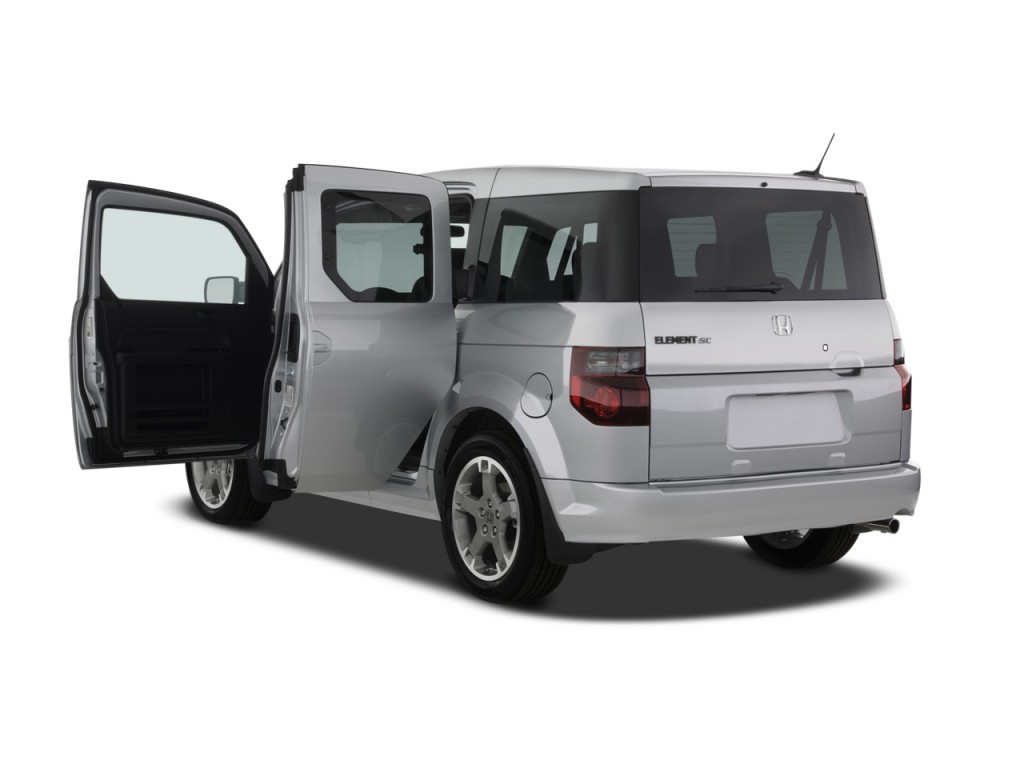 Image 2008 honda element 2wd 5dr auto sc open doors size for Honda odyssey life expectancy