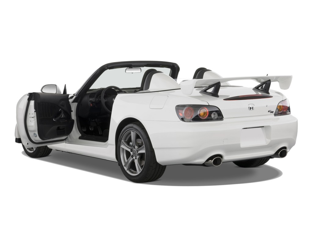 Image 2008 honda s2000 2 door convertible cr w air for Door 2 door cars