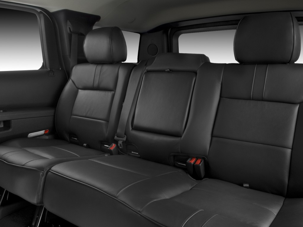 Image 2008 hummer h2 4wd 4 door suv rear seats size for Interior back doors