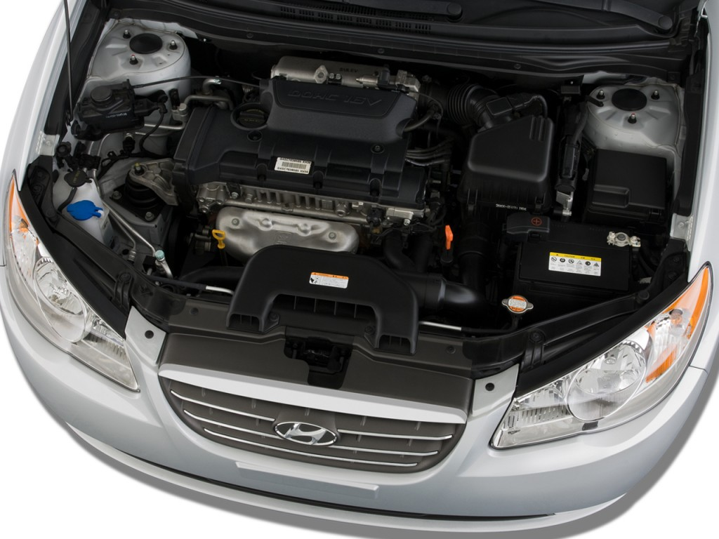 Image 2008 Hyundai Elantra 4 Door Sedan Auto Se Engine