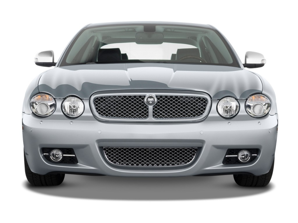 Image 2008 jaguar xj 4 door sedan vanden plas front for Jaguar xj exterior