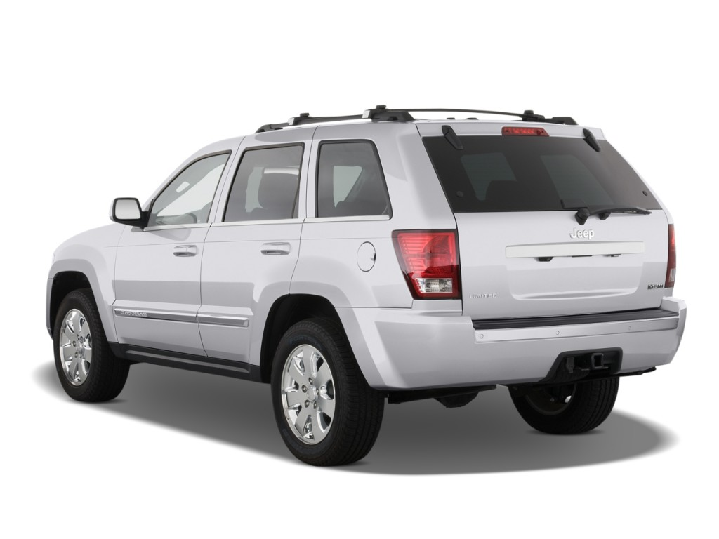2008 jeep grand cherokee rwd 4 door limited angular rear exterior view. Cars Review. Best American Auto & Cars Review