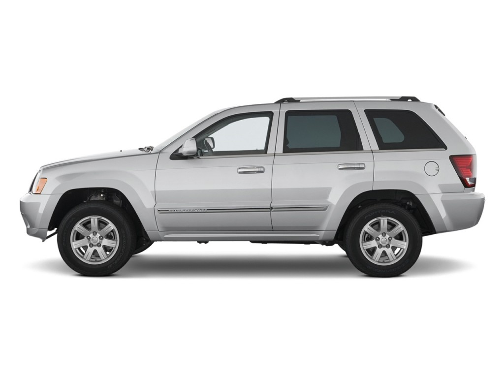 2008 Jeep Grand Cherokee Rwd 4 Door Overland Side Exterior