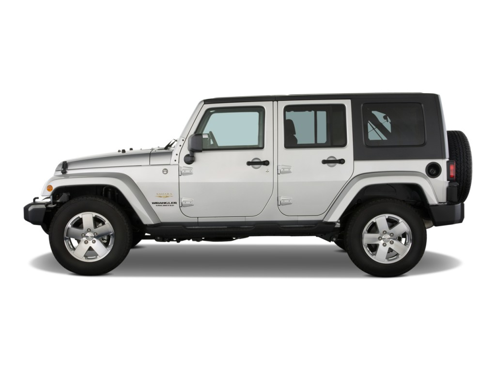 Image 2008 Jeep Wrangler Rwd 4 Door Unlimited Sahara Side