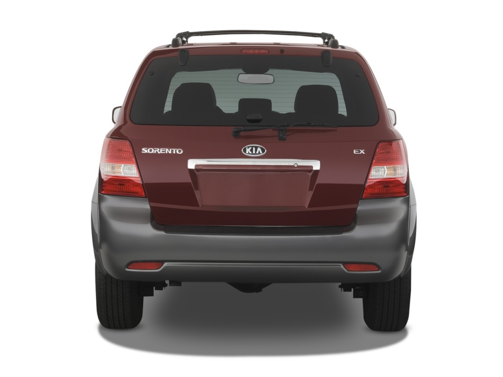 Kia Sorento Wd Door Ex Rear Exterior View L