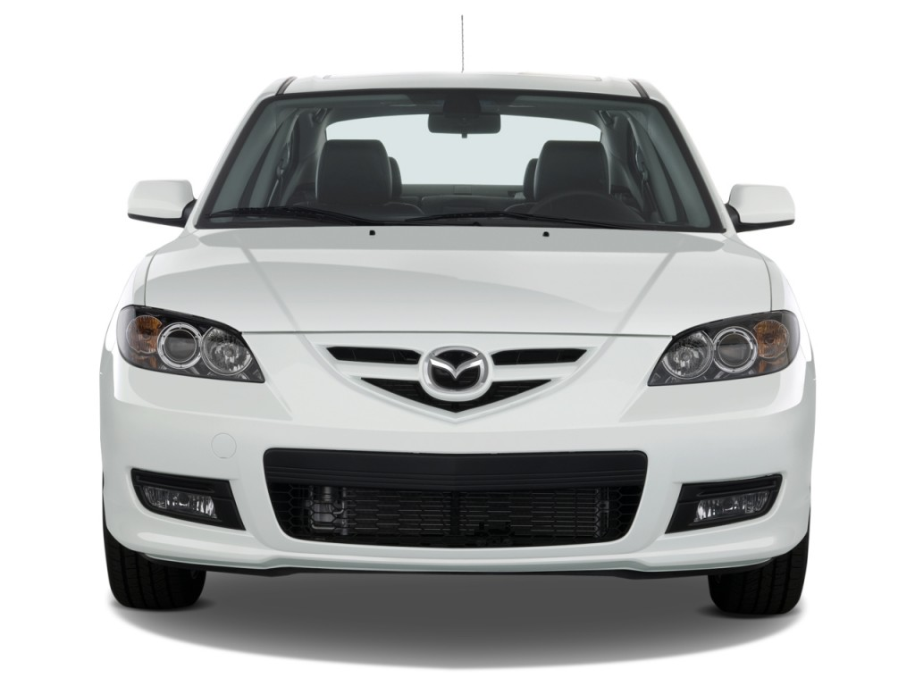 2008 mazda mazda3 4 door sedan auto s grand touring front exterior view. Black Bedroom Furniture Sets. Home Design Ideas