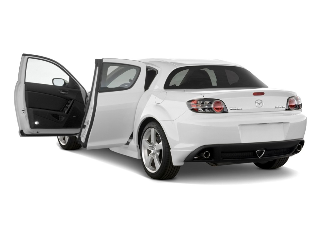 Image 2008 Mazda Rx 8 4 Door Coupe Auto Grand Touring Open Doors Size 1024 X 768 Type Gif