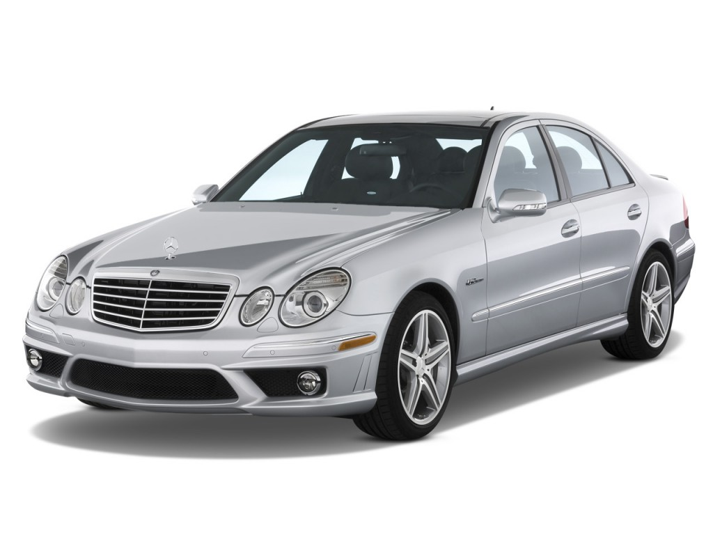 image 2008 mercedes benz e class 4 door wagon 6 3l amg rwd angular front exterior view size. Black Bedroom Furniture Sets. Home Design Ideas