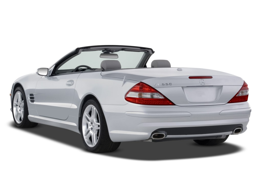 image 2008 mercedes benz sl class 2 door roadster 5 5l v8. Black Bedroom Furniture Sets. Home Design Ideas