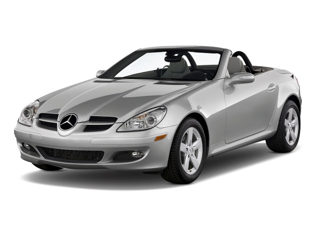 image 2008 mercedes benz slk class 2 door roadster 3 0l angular front exterior view size 1024. Black Bedroom Furniture Sets. Home Design Ideas