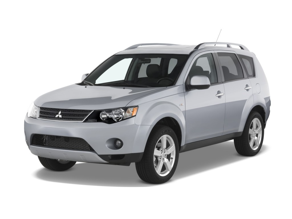 2008 mitsubishi outlander pictures photos gallery motorauthority. Black Bedroom Furniture Sets. Home Design Ideas