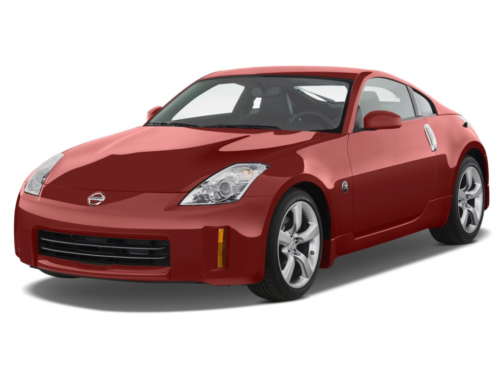 2008 Nissan 350z 2 Door Coupe Auto Touring Angular Front