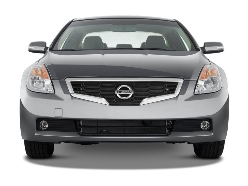 2008 nissan altima 2 door coupe v6 cvt se front exterior view. Black Bedroom Furniture Sets. Home Design Ideas
