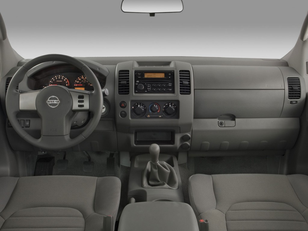 Image 2008 Nissan Frontier 2wd King Cab I4 Man Xe Dashboard Size 1024 X 768 Type Gif