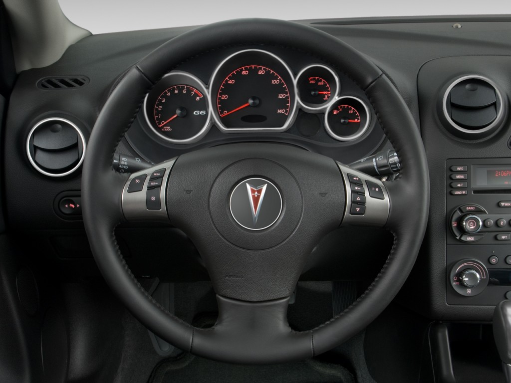 2008 pontiac g6 2 door coupe gxp steering wheel. Black Bedroom Furniture Sets. Home Design Ideas
