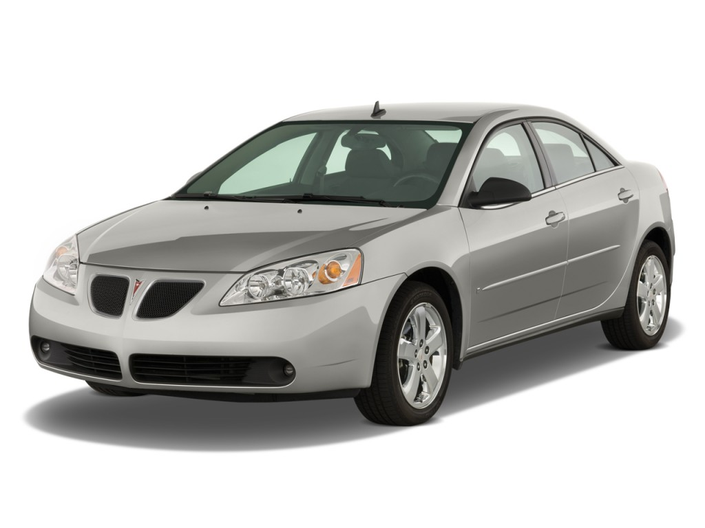 Image 2008 Pontiac G6 4 Door Sedan Gt Angular Front