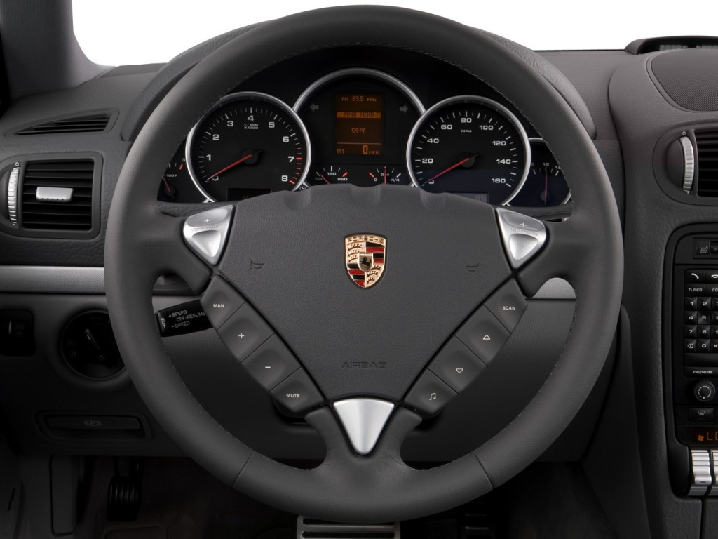 Image: 2008 Porsche Cayenne AWD 4-door S Steering Wheel ...