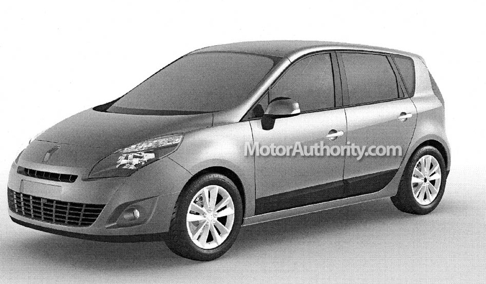 image 2008 renault megane scenic kombi leaked 002 size 946 x 553 type gif posted on. Black Bedroom Furniture Sets. Home Design Ideas