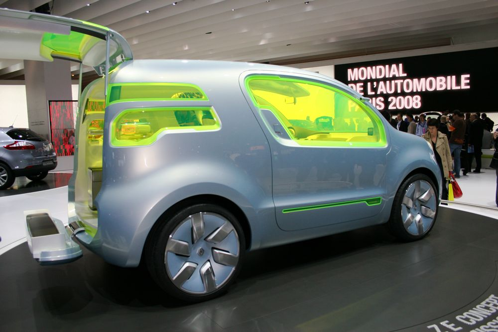 Sport And Car View 2008 Renault Ze Concept