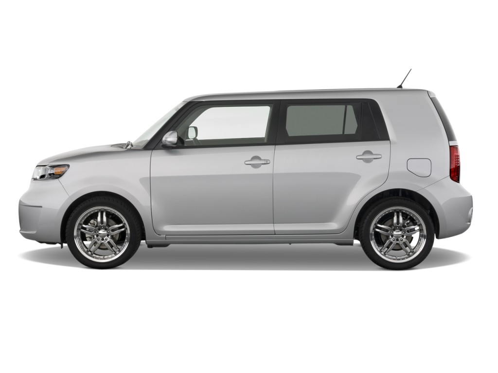 image 2008 scion xb 5dr wagon auto natl side exterior view size 1024 x 768 type gif. Black Bedroom Furniture Sets. Home Design Ideas