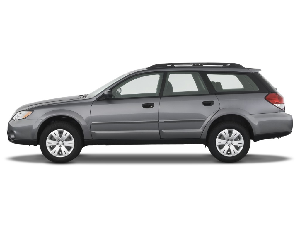 2008 Subaru Legacy Outback Pictures Photos Gallery Green