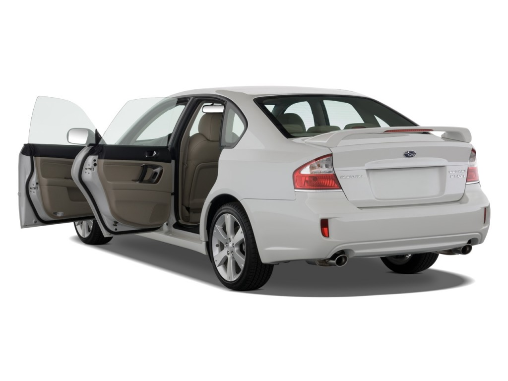 Image: 2008 Subaru Legacy Sedan 4-door H4 Auto GT Ltd Open Doors, size ...