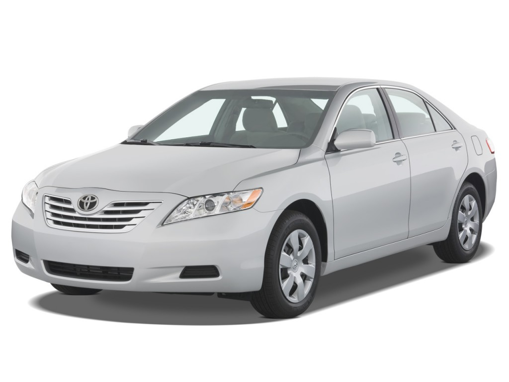 2008 toyota camry 4 door sedan v6 auto xle natl angular front exterior view. Black Bedroom Furniture Sets. Home Design Ideas