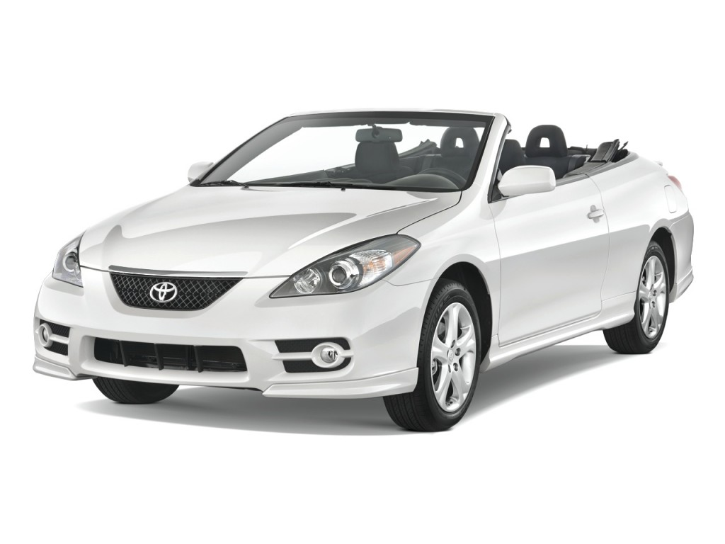image 2008 toyota camry solara 2 door convertible v6 auto sport natl angular front exterior. Black Bedroom Furniture Sets. Home Design Ideas