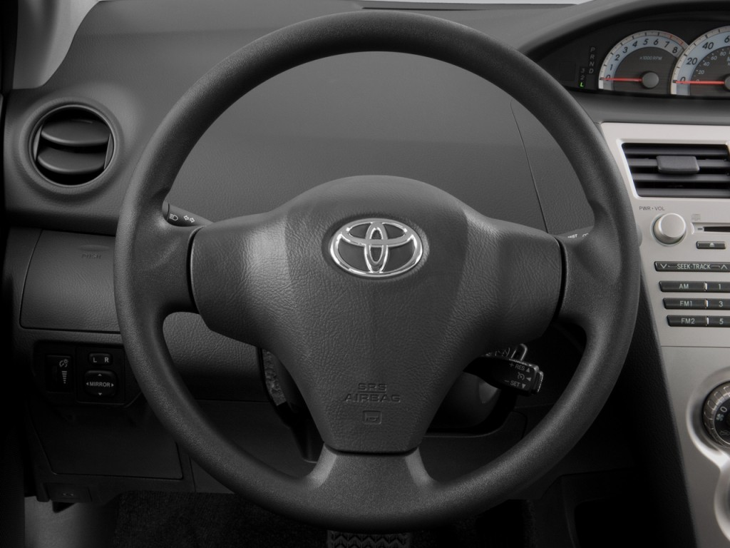 image 2008 toyota yaris 4 door sedan auto natl steering wheel size 1024 x 768 type gif. Black Bedroom Furniture Sets. Home Design Ideas