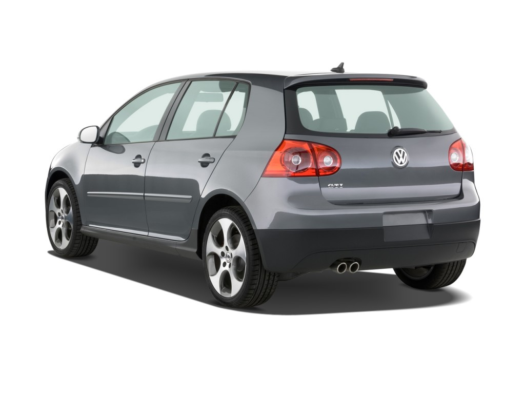 image 2008 volkswagen gti 4 door hb dsg angular rear. Black Bedroom Furniture Sets. Home Design Ideas