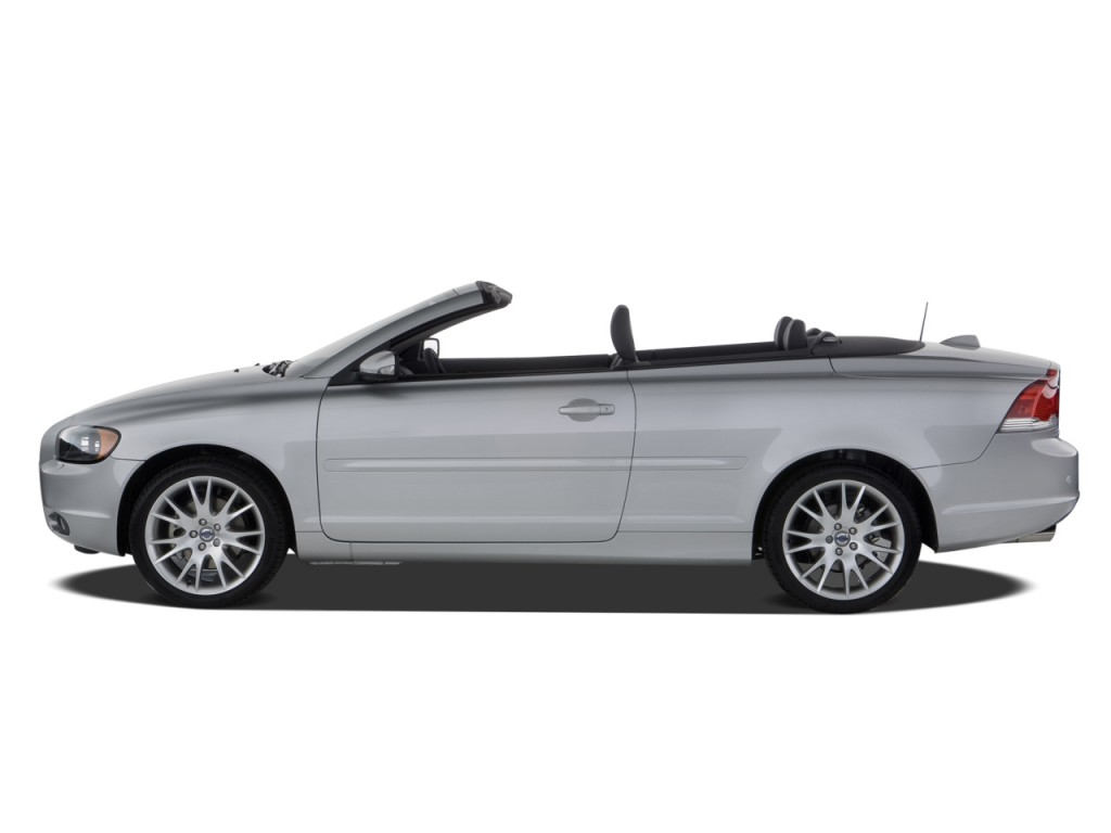 image 2008 volvo c70 2 door convertible auto side exterior view size 1024 x 768 type gif. Black Bedroom Furniture Sets. Home Design Ideas