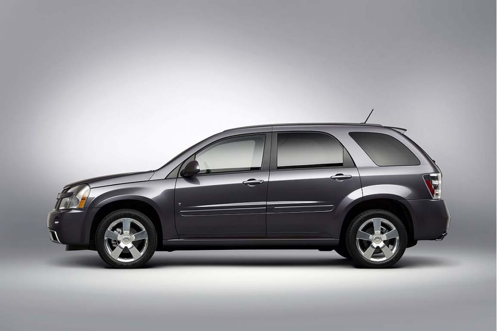 2008 Chevrolet Equinox Chevy Pictures Photos Gallery