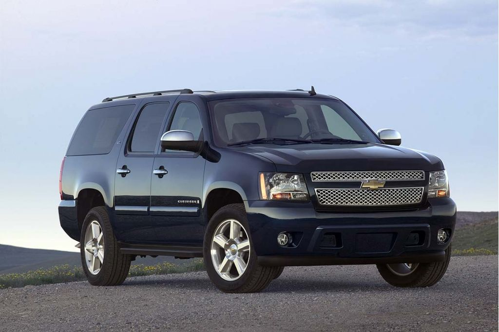 2008 chevrolet suburban chevy pictures photos gallery motorauthority. Black Bedroom Furniture Sets. Home Design Ideas
