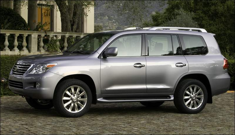 Bmw Of Fresno >> 2008 Lexus LX 570 Review, Ratings, Specs, Prices, and Photos - The Car Connection